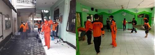 Commandho Muja Muju Lakukan Aksi Jum'at Bersih Di Tempat Ibadah