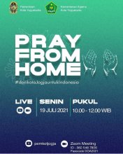 PRAY FROM HOME